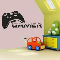 Gamer Controller Vinyl Wall Decal Sticker Xbox Boy PS4 Live Chair Game Room COD