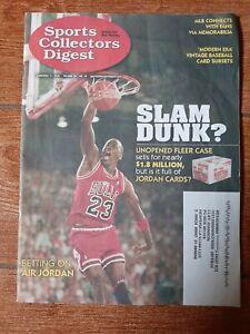2020 SCD Sports Collectors Digest MICHAEL JORDAN Chicago Bulls-NICE Magazine-EX!
