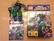 DC Universe LEGO SUPEREROI SUPERMAN VS Power Armour LEX 6862-incompleto