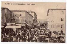 CARTOLINA BAGNI DI MONTECATINI VIALE VERDI RIF. 2834