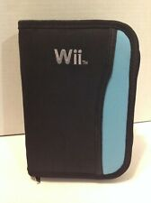 Nintendo Wii Game Zipper Carry Case