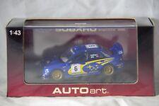 Autoart Scale 1:43 Model Subaru Impreza WRC P. Solberg & P. Mills