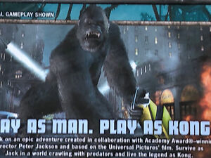 Peter Jackson's King Kong: The Official Game of the Movie (PC). New Sealed