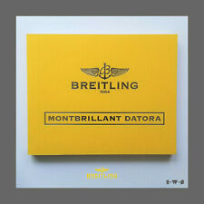 ☆ BREITLING «MONTBRILLANT DATORA» FACTORY BOOKLETS/PAPERS SET☆