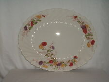 "Copeland Spode Fairy Dell Large 17"" Oval Serving Platter"