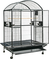 """New listing A&E® 48""""x36""""x76"""" ; Enormous Dome Top Bird Cage with 1"""" Bar Spacing"""