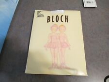 Girl's Bloch brand Endura pink tights Size small (4-5)-NEW-FREE SHIPPING