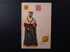 PC UK GB Raphael Tuck Kings & Queens of England Edward II Edwardus Rex Ang