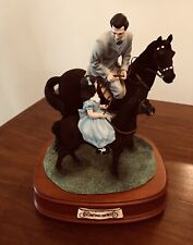 "Rhett And Bonnie Riding Lesson ""Gone With The Wind� San Francisco Music Box"