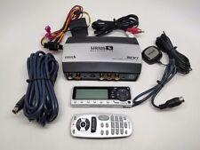 Audiovox Sirius SCV1 Backseat TV Audio/Video Tuner  w/ Remote - Black #SCV1