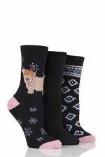 Cotton Novelty, Cartoon Socks for Women , with Multipack