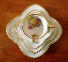 Alka Bavaria Square Coffee Cup & Saucer Plus Extra Side Plate & Saucer Germany