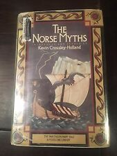 THE NORSE MYTHS Pantheon Fairy Tale & Folklore Library 0395400482 Acceptable