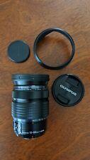 Olympus M.zuiko Digital Ed 12-100mm F4.0 Pro Lens Black Used
