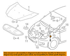 TOYOTA OEM Hood-Support Rod Clip 5345452020