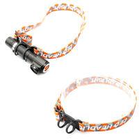 1xHeadband Head Belt Head Strap Mount Holder For Headlight Flashlight Lamp To DD