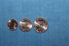 2016 Malta 1 / 2 / 5 Euro Cent Kursmünzen Münzzeichen - F - UNC KMS Rolle RAR!!!
