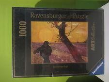 """PUZZLE RAVENSBURGER 1000 SERIE ART """"SEMBRADOR AL PONERSE EL SOL"""" DE VAN GOGH"""