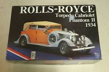 Pocher Kit 1:8 Rolls Royce Torpedo cabriolet PHANTOM II 1934, modèle K 75 1/8