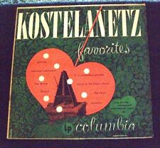 KOSTELANETZ FAVORITES LP Album - Vinyl Columbia Records ML 4065