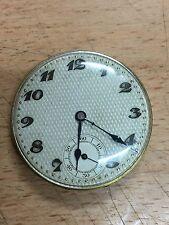 mécanisme de montre gousset spiral Breguet 15 rubis très beau cadran + verre