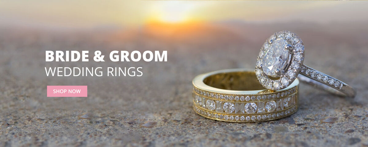 Bridal & Groom Wedding Rings