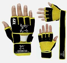 EVO Boxing Neoprene Gel Gloves MMA Gym Training Grappling Wrist Support Wraps