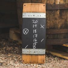 Wine Barrel Score Board by Alpine Wine Design, made of burgundy oak