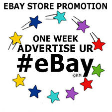 Promote eBay Store ONE WEEK Advertising Marketing KaliMarcum Social Media