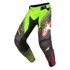 Alpinestars Men's Motocross MX ATV Pant S7 Techstar Venom Fluo/Black/Red Size 32