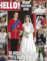 Kate Middleton Hello Magazine Prince William Royal Wedding Souvenir Issue 2011