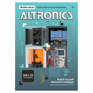 Altronics 2021/22 Build It Yourself Electronics Catalogue