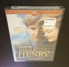 Regarding Henry (DVD, Widescreen Collection) Harrison Ford Mike Nichols film NEW