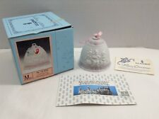 Lladro Annual Christmas Bell 1987 Dated Ornament Children Play Retired Vintage