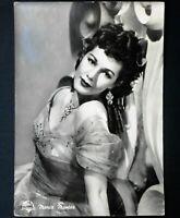 maria montez vera fotografia photo cartolina postcard anni 50 dominican actress