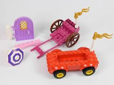 LEGO GIRLS pieces: car carriage door arch BRAND NEW PINK PURPLE FRIENDS