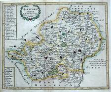 More details for hertfordshire  by robert morden c1704  genuine antique copper  engraved map