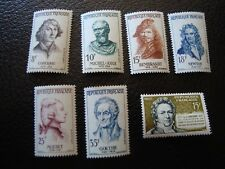 France - stamp yvert/tellier n° 1132 1133 1135 a 1139 n Mnh (Col3)