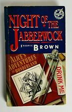 Night of the Jabberwock Fredric Brown Quill Mysterious Classic 1st Printing