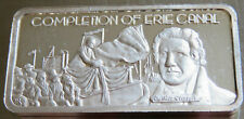 1975 ERIE CANAL .999 FINE SILVER PROOF ART BAR 1 TROY OZ AMERICA GREATEST EVENTS