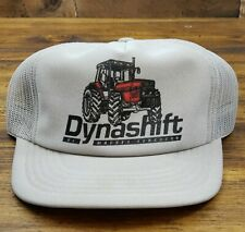 Vintage MASSEY TRACTOR Snapback Trucker Hat Mesh Cap Made in the USA