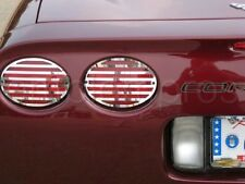 STAINLESS 1997 - 2004 C5 CORVETTE TAILLIGHT COVERS