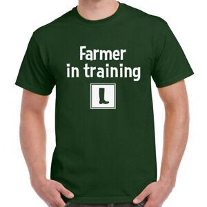 Learner Farmer Mens T Shirt Funny Farming Farm Clothing Him Gift Present Tee