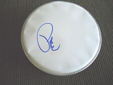 """Pete Wentz Fall Out Boy Signed Autographed 8"""" DRUMHEAD PSA Guaranteed"""
