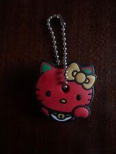 NWOT RARE Sanrio Japan Hello Kitty Key Cap Cover Lucky Cat Neko Red Waving