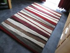ORIENTEX, 6' x 4', BRAND NEW, HAND-MADE ,TEXTURED, PURE WOOL RUG..FREE DELIVERY.