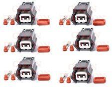 Fits Nissan 300zx 240sx 200zx silvia rb25det sr20 s13 fuel injector connectors 6