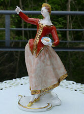 "Nymphenburg Figur Bustelli "" Lalage "" !!! Commedia dell àrte  !!!"