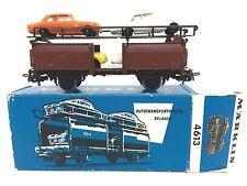Neuwertiger Märklin 4613 Autotransportwagen mit 4 Autos Ford 17 M in OVP