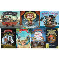 Jonny duddle jolley roggers the pirates series collection 7 books set pack NEW
